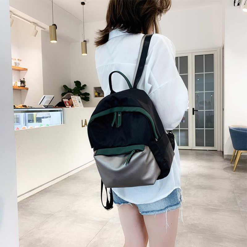 חדש נגד גניבת תרמיל אופנה בד פשוט מזדמן אור קטן תרמיל ארנק חזרה חבילה bookbags לנערות
