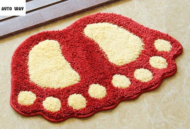 Tappeti Da Bagno Grandi : Carino grandi piedi porta a casa zerbino tappetini da bagno del