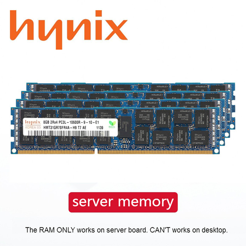 Server Memory DDR3 PC3 4GB 8GB 16GB 32GB 1333Mhz 1600Mhz 1866Mhz ECC REG Suitable For Two-way Server Motherboard 1866 1333 1600