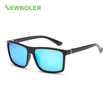 70139e9d51 NEWBOLER 2019 gafas de sol polarizadas Ultri-luz de pesca gafas para hombre  al aire libre de las mujeres al aire libre deporte de conducción UV400 gafas