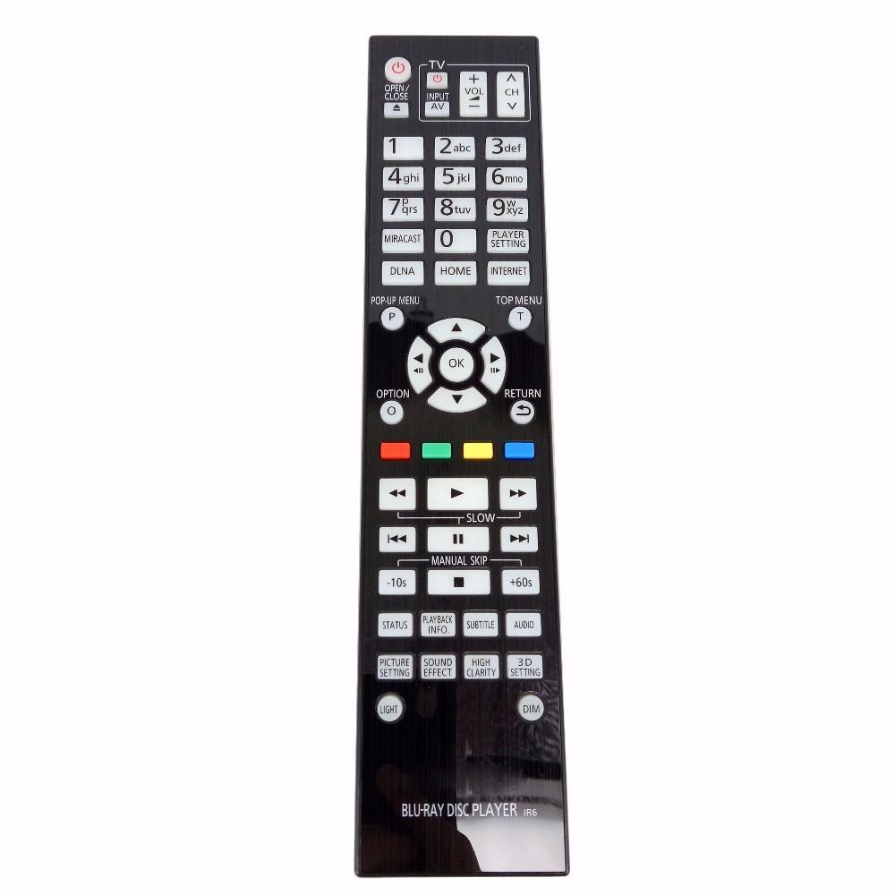 NEW Genuine Original Remote Control N2QAYA000085 for Panasonic  Blu-ray  disc  player for DMPBDT700EF DMP-BDT700EF new remote control for lg blu ray dvd disc player remote control akb73615801 for bp220 bp320 bp125 bp200 bp325w