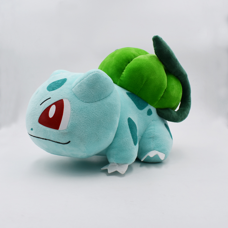 30cm Bulbasaur Plush Toy Cartoon Anime Peluche Dolls Kawaii Baby Toys Gift For Kids' Chiristmas Birthday Free Shipping