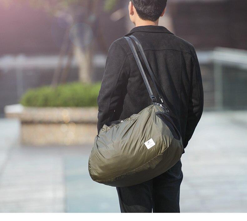 água saco de viagem sacos acampamento unisex