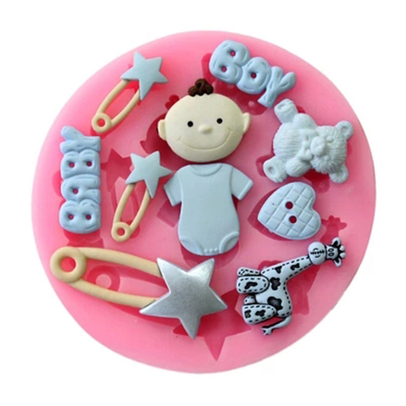 Honesty 2018 Cooking Tools Sleeping Baby Silicone Fondant Paste Mold Cake Decorating Polymer Clay Resin Candy Fimo Super Home & Garden