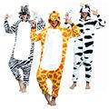 Kigurumi Giraffe Onesie Adult Pajamas Anime Pyjamas for Adults Women Unicorn Onesies Pijamas Enteros de Animales Unicornio Onsie