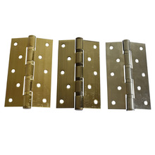 5 Inch Stainless Steel 3mm Thickness Silvery Golden Or Bronze 125x75mm Door Furniture Hinges