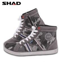 SHAD/Модная Повседневная обувь; обувь для езды на мотоцикле; ботинки в байкерском стиле; ботинки для уличных гонок; дышащие байкерские ботинки