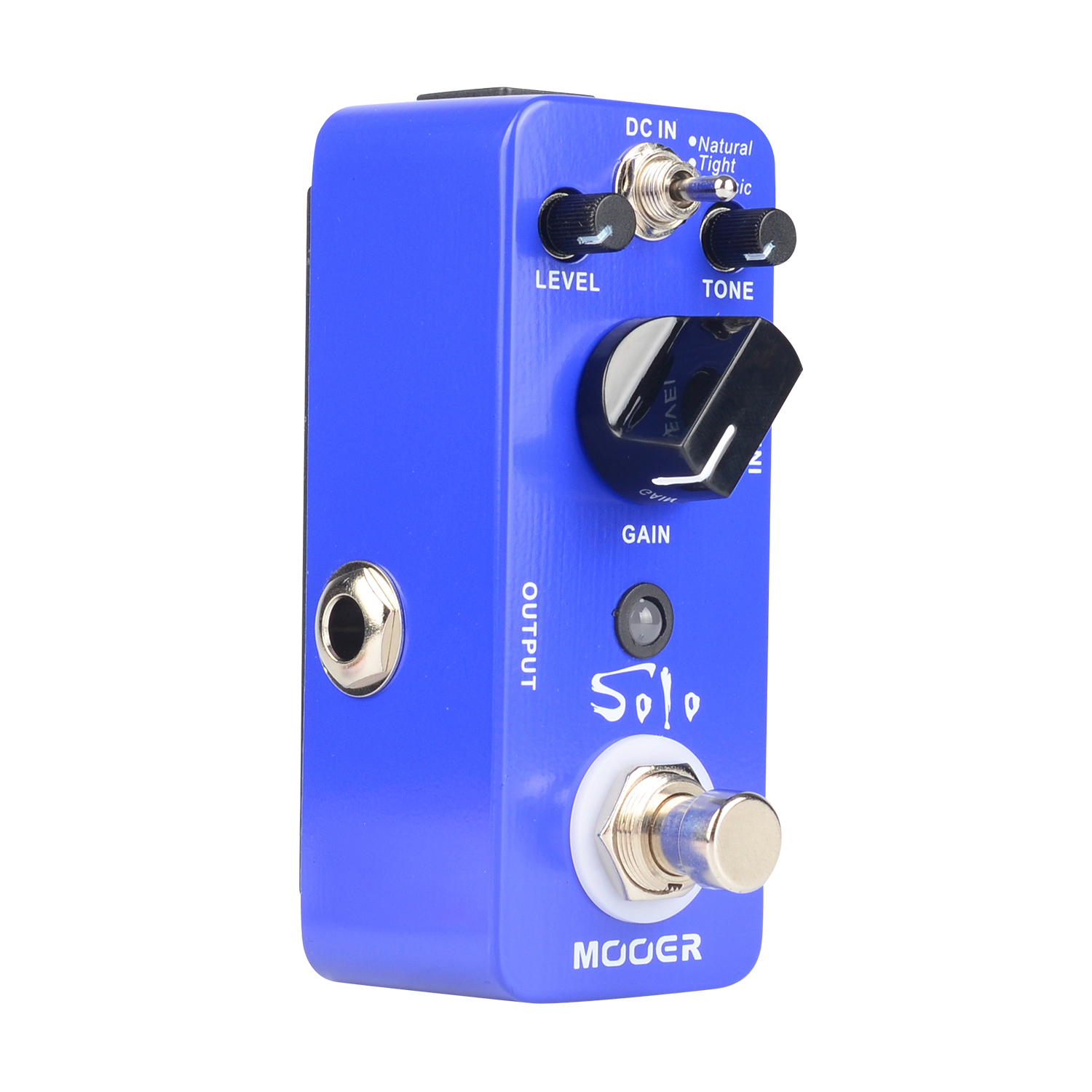 Mooer Solo Distortion Pedal Electric Guitar Effect True Bypass Natural Tight Classic Modes mooer mini ensemble king electric guitar effect pedal true bypass pure analog chorus sound
