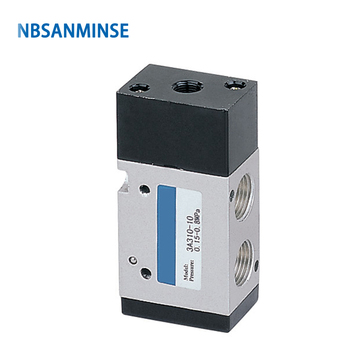 NBSANMINSE 3A310 3A320 3/8 Air Pneumatic Control Valve Two Position Three Way AirTAC Type Solenoid Valve Series design цена 2017