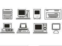 Computador Gamer Mural Adesivo de Parede Decalque Da Parede Do Vinil Computador Logos Computador Jogo Loja Escritório Sala de Vidro Da Janela Decoração do Quarto