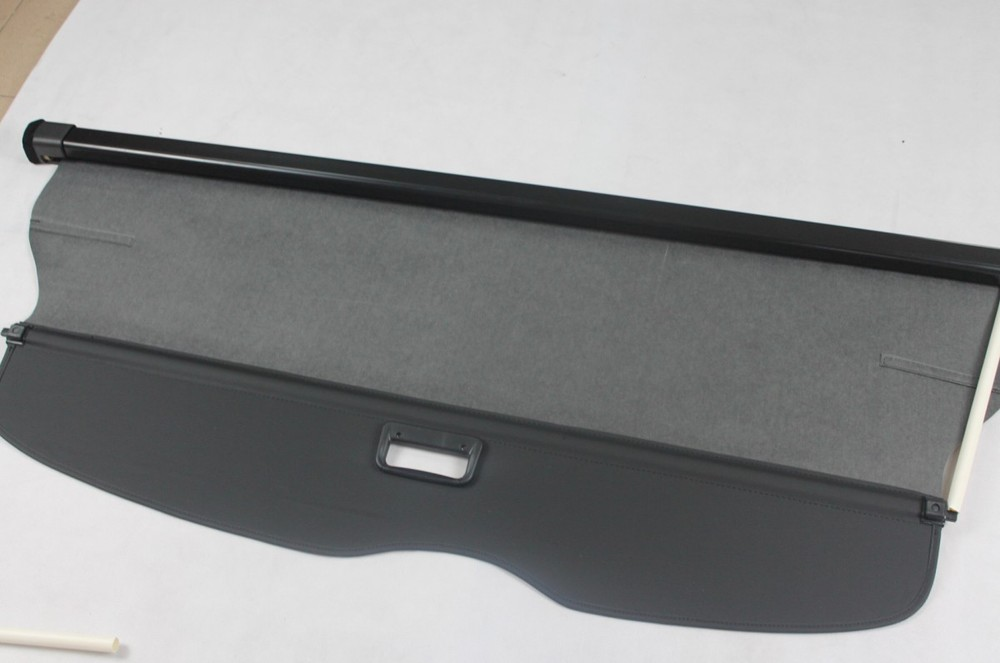 TOP QUALITY! For 2011 2012 2013 Grand Cherokee Fabric Rear Trunk Security Shield Cargo Cover Black car rear trunk security shield shade cargo cover for nissan qashqai 2008 2009 2010 2011 2012 2013 black beige