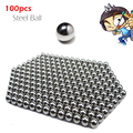 100 pcs/lot Wholesale 8mm Steel Balls For Outdoor Hunting Slingshot Stainless Free Shipping