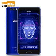 """Bateria super 6 gb 64 gb 6180 """"do andróide 5.5 4g das cames duplas de fhd 21mp 7.1 mah do smartphone helio p25 da identificação da cara de blackview mah"""