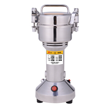 Stainless Steel Traditional Chinese Medicine Electric Grinder Whole Grains Grinding Machine Superfine Crusher Powdering Machine high quality 300g swing type stainless steel electric medicine grinder powder machine ultrafine grinding mill machine