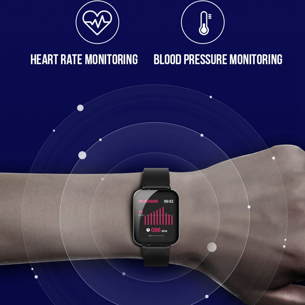 cheapest LIGE 2020 New Steel Band Smart Watch Men Heart Rate Pedometer Multifunctional Sport Waterproof Smartwatch Fitness Tracker Box