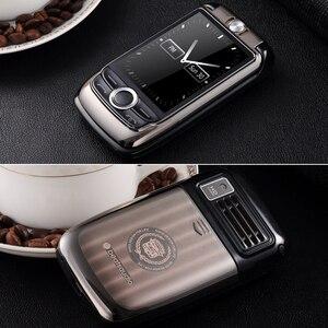 Image 5 - Blt v998 flip tela dupla dupla dois tela de vibração do telefone móvel tela sensível ao toque sim duplo voz mágica telefone celular p077