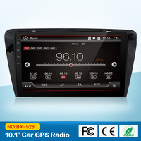 Wholesales 2 Din 7 Inch Car DVD Player For Octavia SKODA CANBUS GPS Navigaiton Bluetooth Radio
