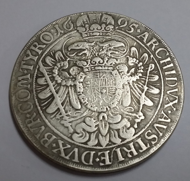 1695 Hungary Leopold Coin
