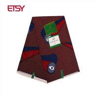 2018 african prints fabric hollandais wax fabric african printed fabrics nigeria polyester ankara fabric 6 yards PL671