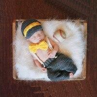 Neonato appena nato Fotografia Gentleman Outfit Puntelli Piccolo Bambino Primo Compleanno Foto Servizio Fotografico Puntelli Abiti Accessori