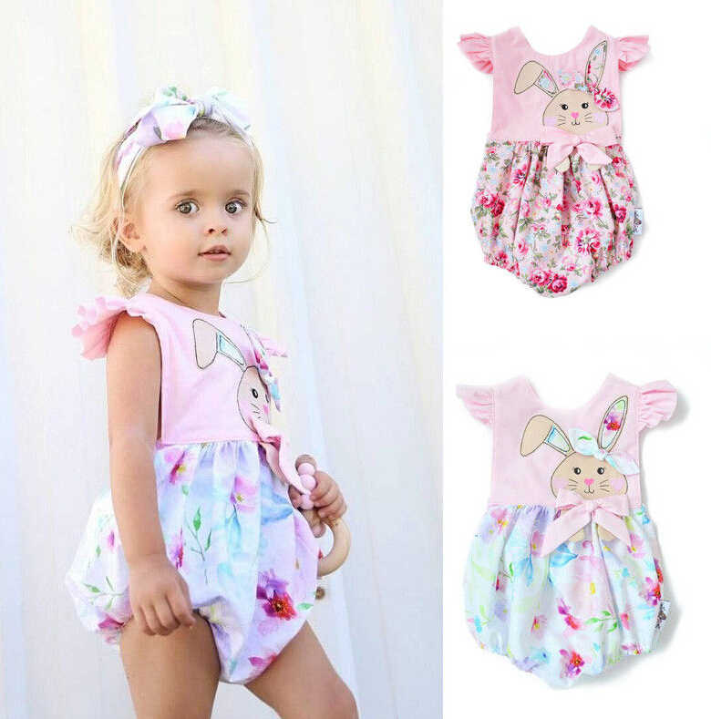 e415aca5455a Detail Feedback Questions about Easter Newborn Baby Girl Floral ...