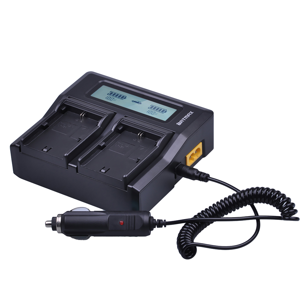 LP E6 LPE6 Ultra Fast LCD Dual Battery Charger for Canon LPE6 LP E6 LP-E6N DSLR EOS 5D Mark II III 60D 5D 7D 6D 70D Battery