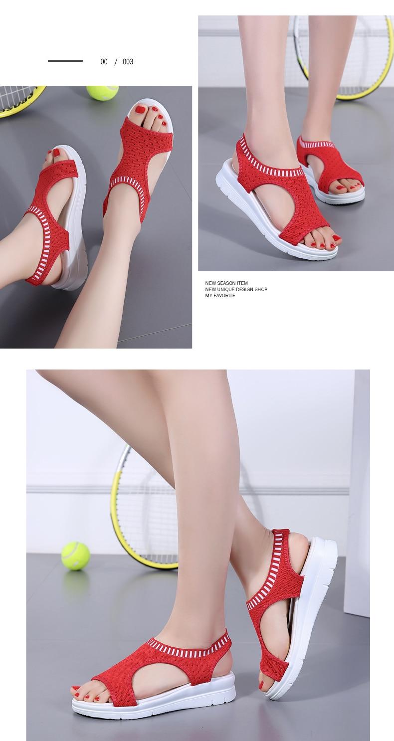 HTB1z7KHRCzqK1RjSZFjq6zlCFXaO ZUNYU New 9 colors Woman Flat Summer Shoes Fashion Women's Sandals Wedge Comfortable Sandals Ladies Sexy Sandals Plus Size 35-45