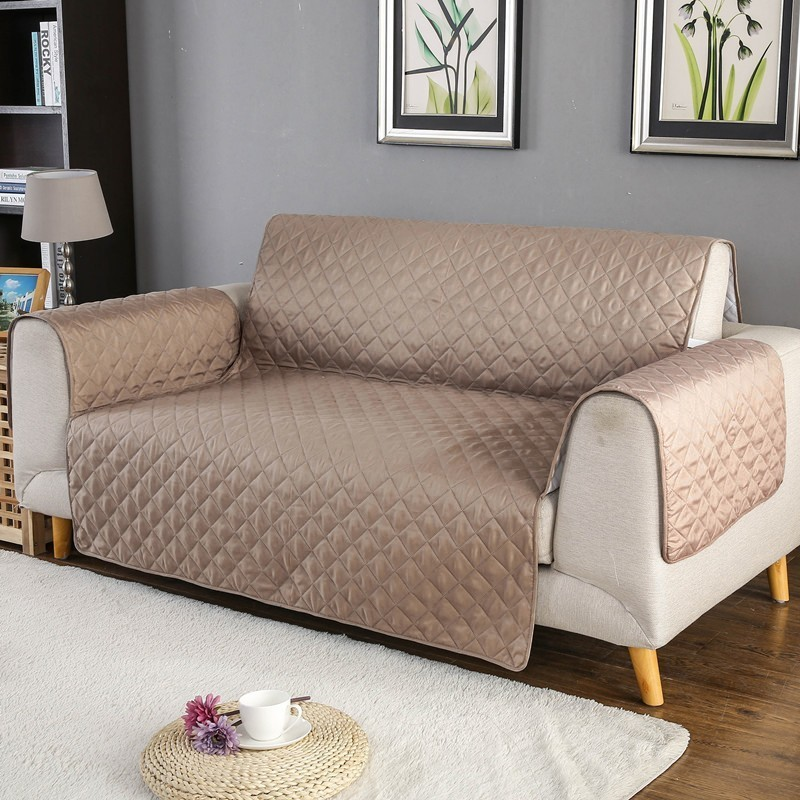 Waterproof Quilted Sofa Covers Anti-Slip Couch Recliner Slipcovers 1//2or3 Seater