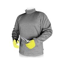 مادة البولي ايثيلين مستوى 3 قطع برهان ارتداء مائل مقاومة تي شيرت مكافحة قطع الملابس