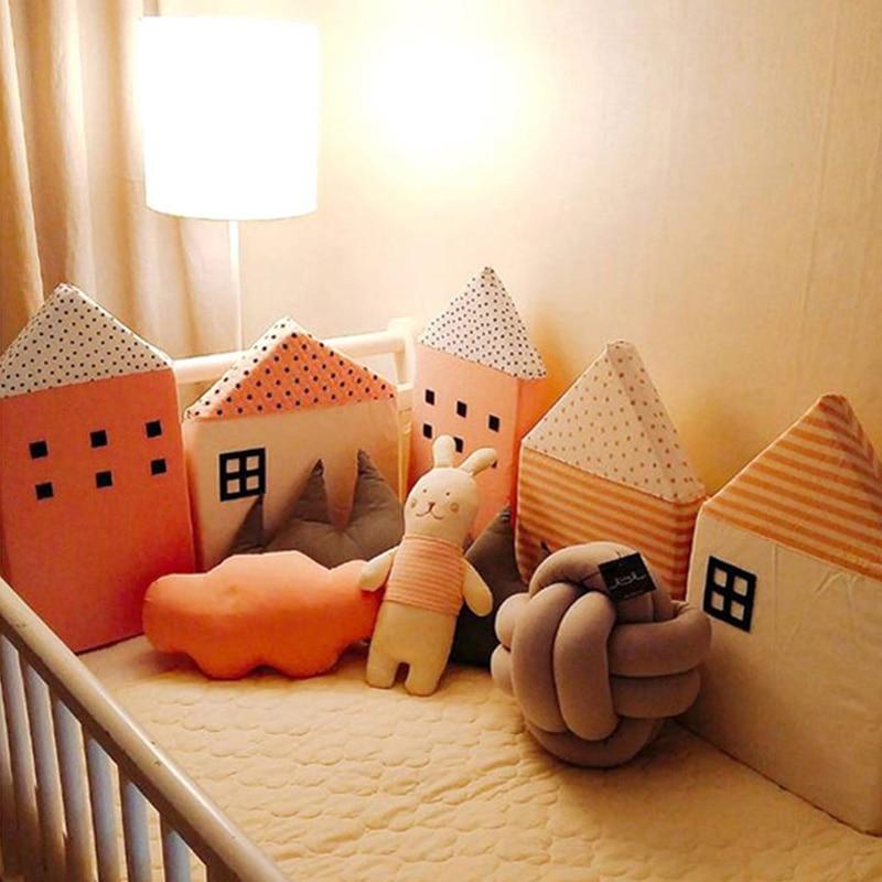 Kamimi Nette Baby Bett Zaun 4 Stucke Ein Satz Schone Schwamm Haus