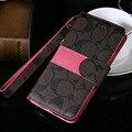 6 s caso carteira de couro de luxo flip magnético capa para iphone 7 plus com suporte de cartão tampa traseira do telefone para o iphone 6 plus 5 5s