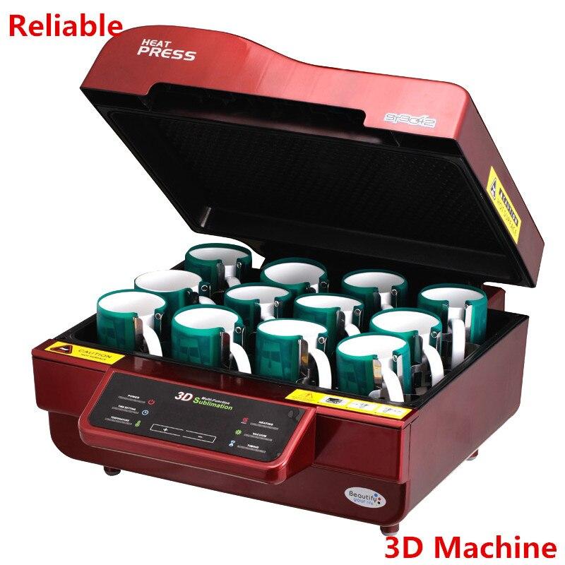 3D принтер/сублимации вакуумная машина/тепло Прессы машина Кружка/футболка/сотовый телефон случае принтер/ чашки/цифровой печатной машины