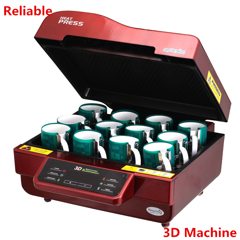 3D Sublimation Printer Vacuum Machine Heat Press Machine Mug/T Shirt/Cell phone Case printer/Cup/ Digital Printing Machine 3d sublimation vacuum printer sublimation heat press machine mug t shirt cell phone case printer cup digital printing machine