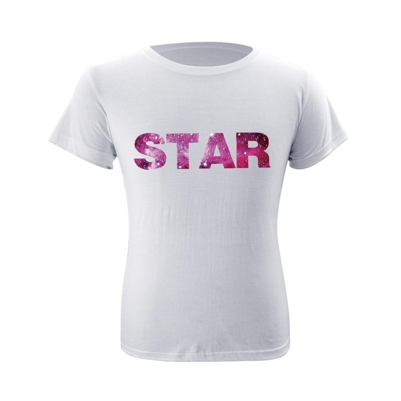 OHYOUNG New 5XL Star Print T-Shirt Men/Women T Shirt Short Sleeve Tops Solid Cotton Homme Tee Shirt Hot Sale Summer Clothes Acdc