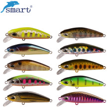 Smart Minnow Fishing Lure 50mm/6.1g Hard Bait Leurre Souple Iscas Artificiais Para Pesca Atacado Fishing Wobblers Swimbait Peche
