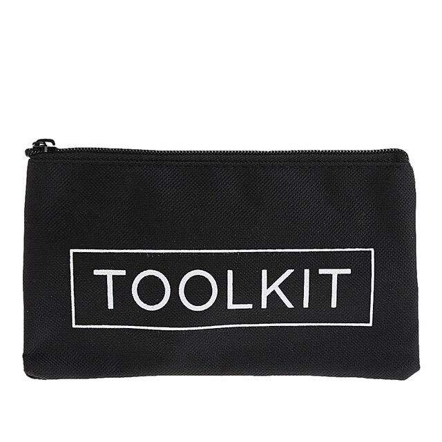 Waterproof 600D Oxford Cloth Tool Bag Zipper Storage Instrument Case 19x11cm W310