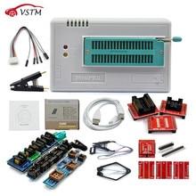 Original New V8.51 TL866II Plus Universal Minipro Programmer+28 Adapters+Test Clip TL866 PIC Bios High speed Programmer