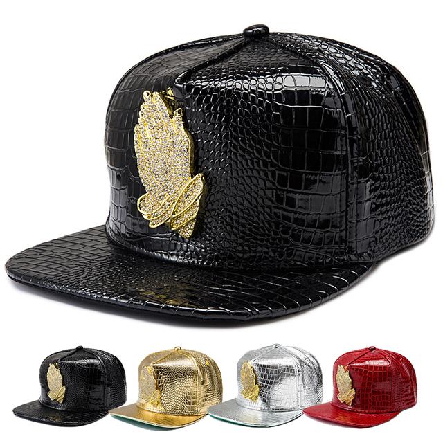 New Hot Rhinestone Deus mãos Pray liga de Hip Hop do boné de beisebol Gorras 6 Deus Drake chapéu dos ganhos Snapback respirável chapéus para mulheres dos homens