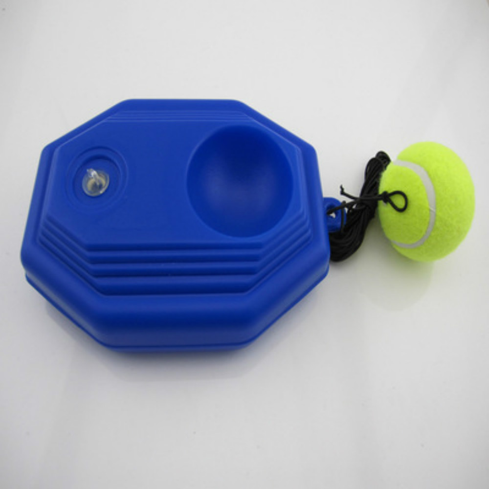 Self-Study Tennis Trainer and Tennis Ball Base as Tennis Training Equipment
