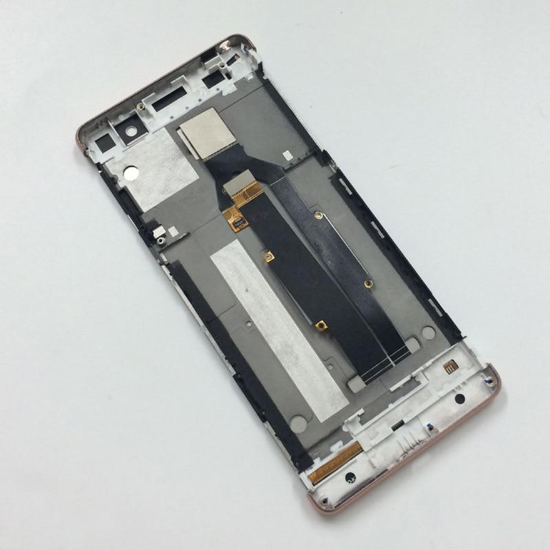 imágenes para Oro rosa Monitor de Pantalla LCD + Pantalla Táctil Digitalizador Del Sensor Panel Asamblea con Marco Para Sony Xperia XA F3111 F3113 F3115
