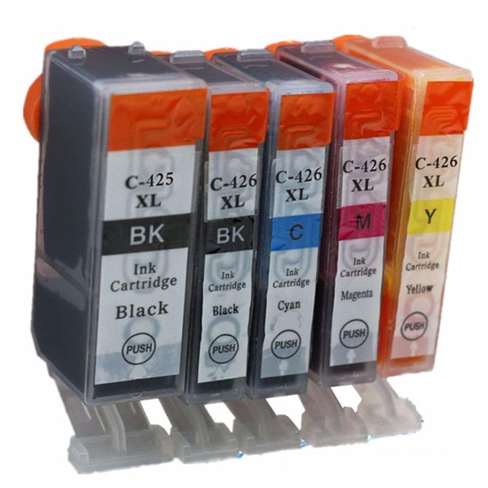 Înlocuire PGI-425 CLI-426 PGI-425XL PGI 425 PGI425 PGI425XL Cartușe - Echipamentele electronice de birou