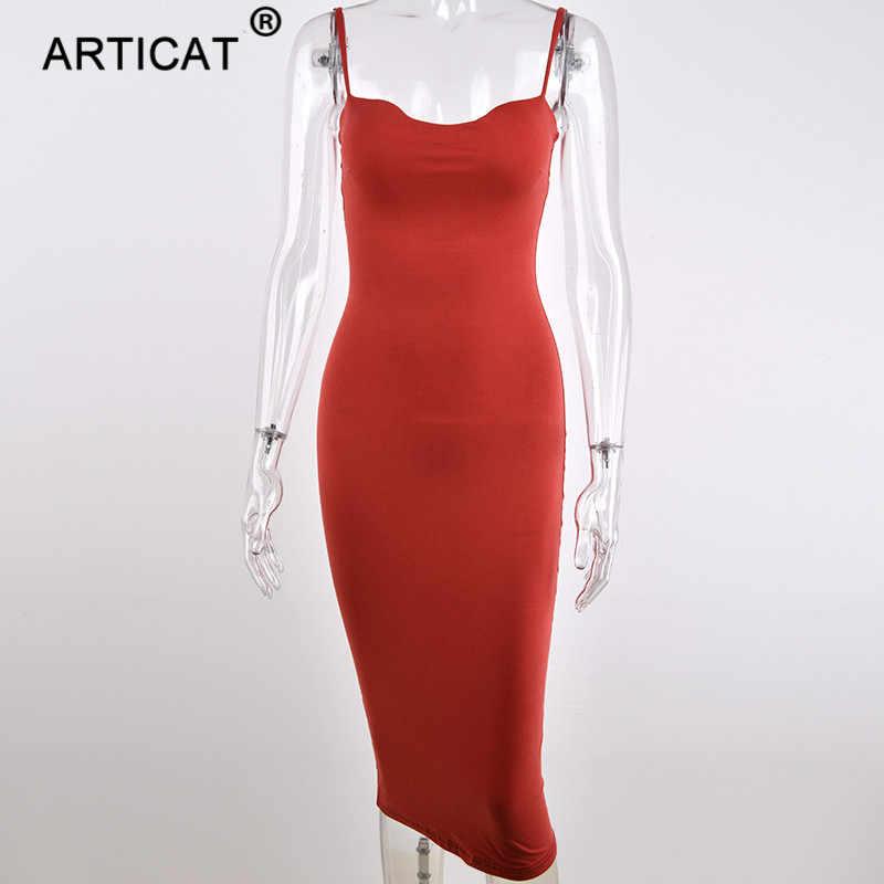 Женское двухслойное длинное платье Articat, черное платье, облегающее платье из хлопка, для вечеринки, на осень/зиму