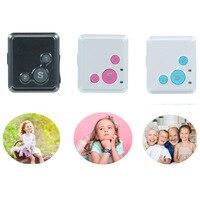 Mini Bambini Child Locator GPS RF-V16 GPS Inseguitore Personale in Tempo Reale Il Monitoraggio SOS Voice Monitor Free APP Inseguimento