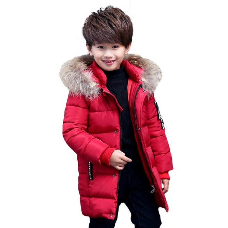 winter baby boy's down jacket kids outerwear boy's winter clothing boy's parkas child jacket overcoat fit height 120cm-160cm women winter coat leisure big yards hooded fur collar jacket thick warm cotton parkas new style female students overcoat ok238