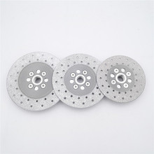 Grinding-Disc DIATOOL Cutting Diamond And with 5/8-11 Flange Premium-Quality Vacuum-Brazed