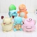 12-18cm Pikachu Plush Toys Pikachu Charmander Squirtle Bulbasaur Clefairy Ditto Metamon Stuffed Animal Dolls