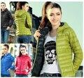 Nuevo 2015 Parkas Moda Mujer Down Jacket Abrigo de Invierno Ropa de Color Abrigo Chaqueta Parka s-xl