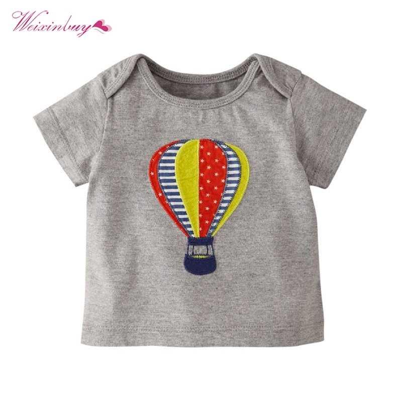 Kinderen T-shirt Jongens Meisjes T-shirt Babykleding Jongetje Meisje Zomer Shirt Katoen Tees Cartoon Kleding