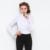 2017 verão nova camisa corpo das mulheres clothing blusas blusa feminina moda hot babados bodysuit ruff manga comprida sólido branco