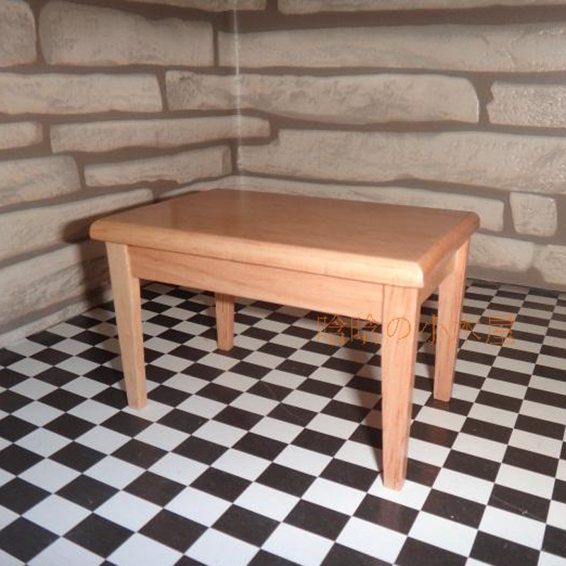 Dining table and chair set doll house 6